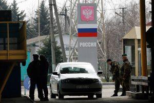 Украина вводит биометрический контроль на границе с Россией