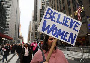Женский марш в Нью-Йорке