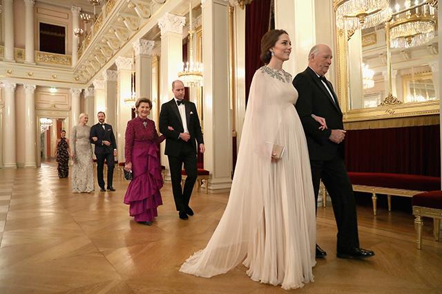 Принц Уильм и Кейт Миддлтон в Норвегии