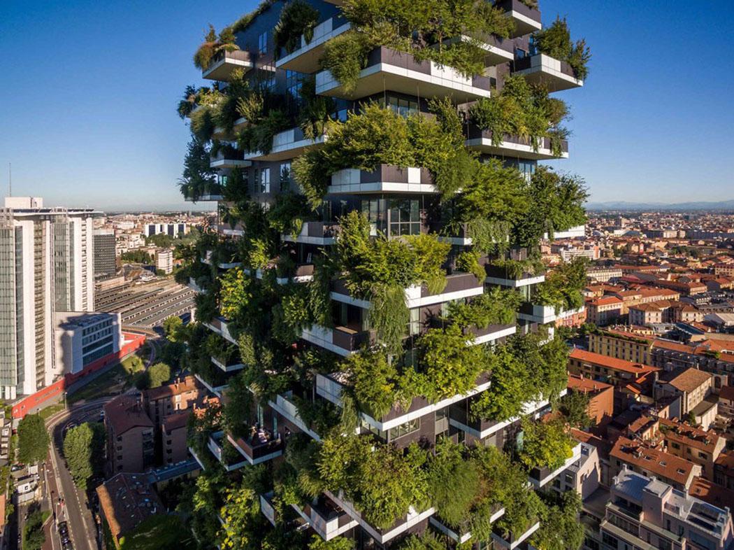 «Вертикальный лес» в Милане