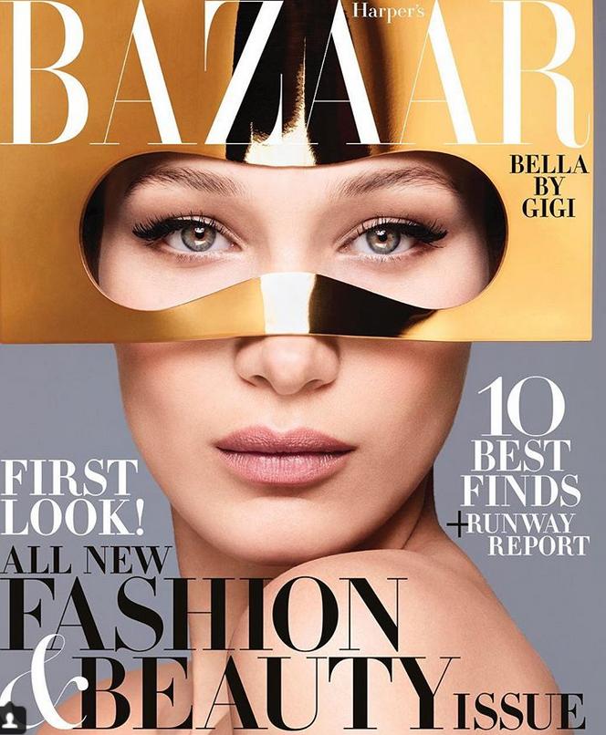 Белла Хадид для Harpers Bazaar