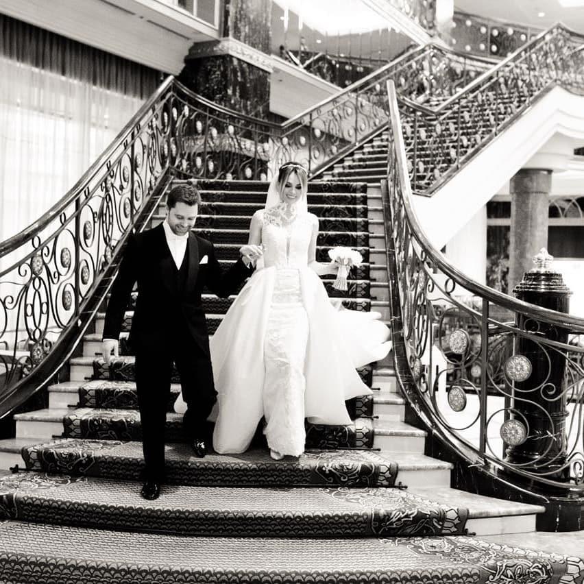 Виталий Гогунский показал кадры своей шикарной свадьбы