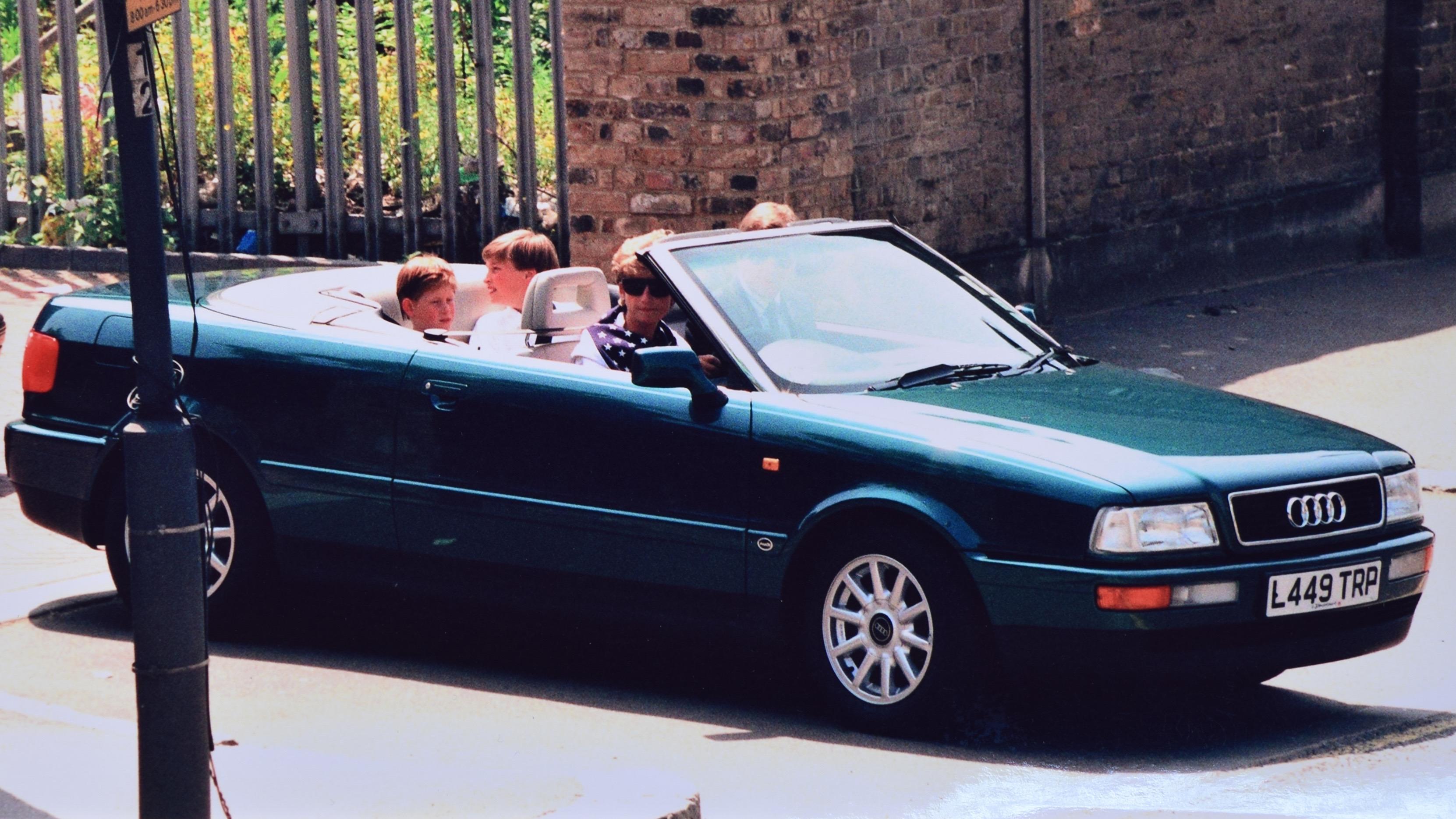 Машина принцессы Дианы