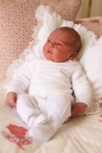 Первый официальный портрет принца Луи