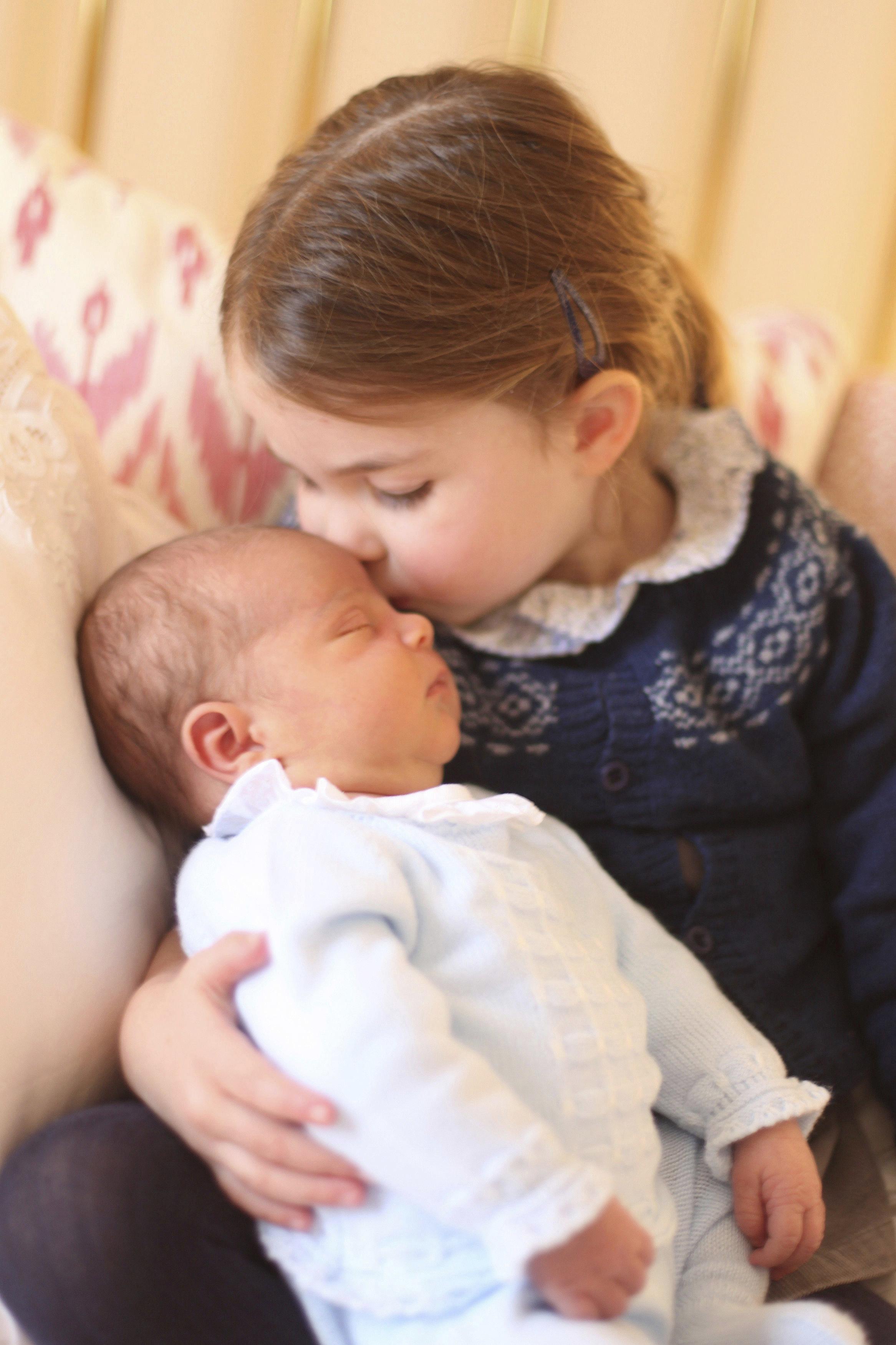 Принц Луи и принцесса Шарлотта