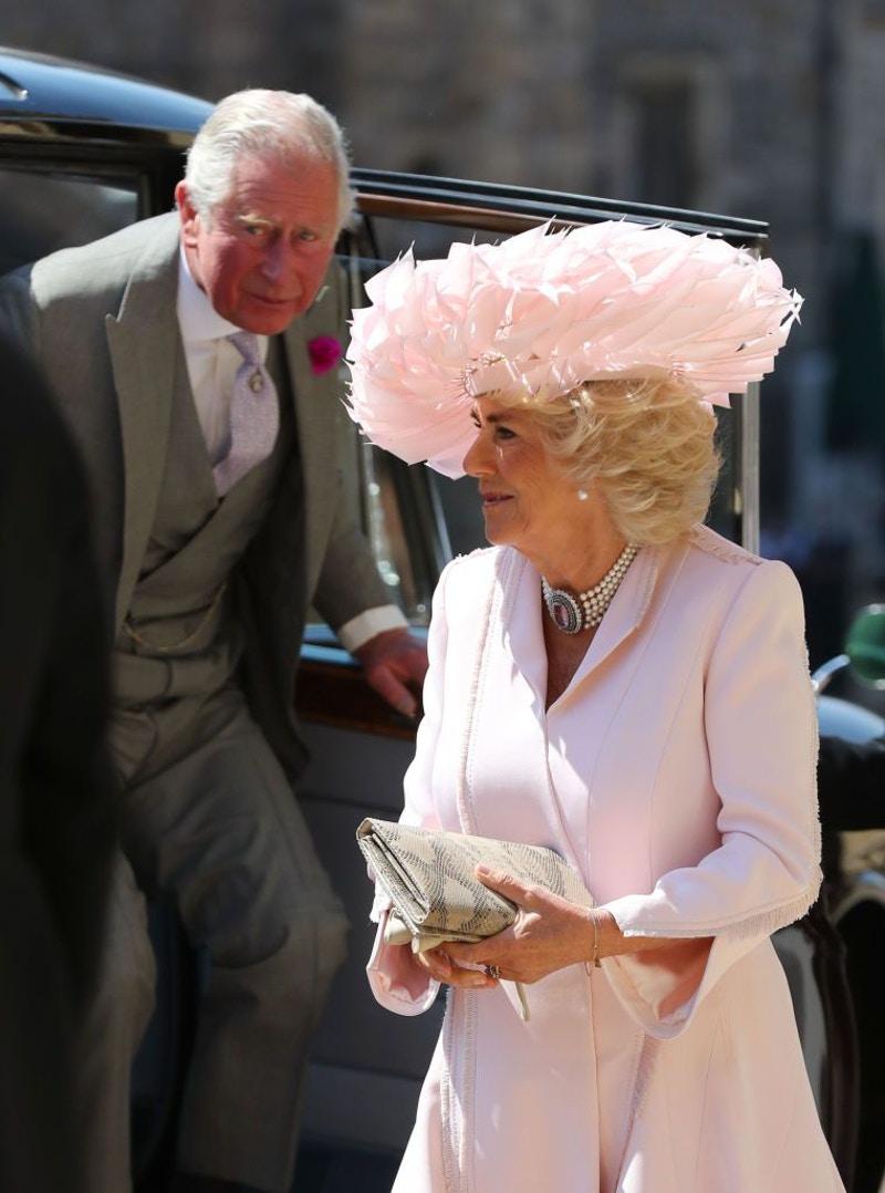Камилла и принц Чарльз на свадьбе Гарри и Меган