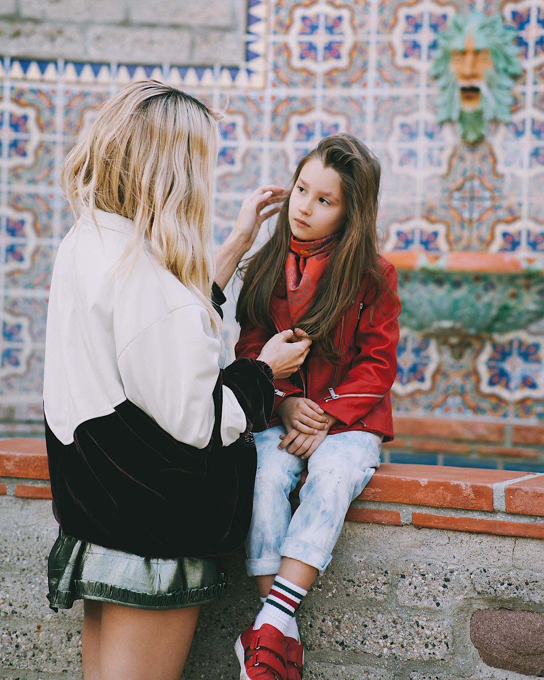 Светлана Лобода с дочерью Евангелиной