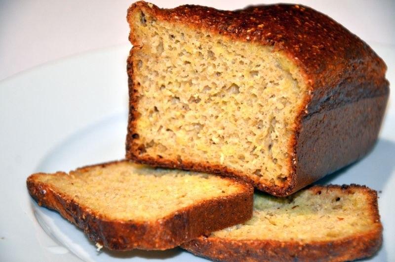 Творожный хлеб с отрубями