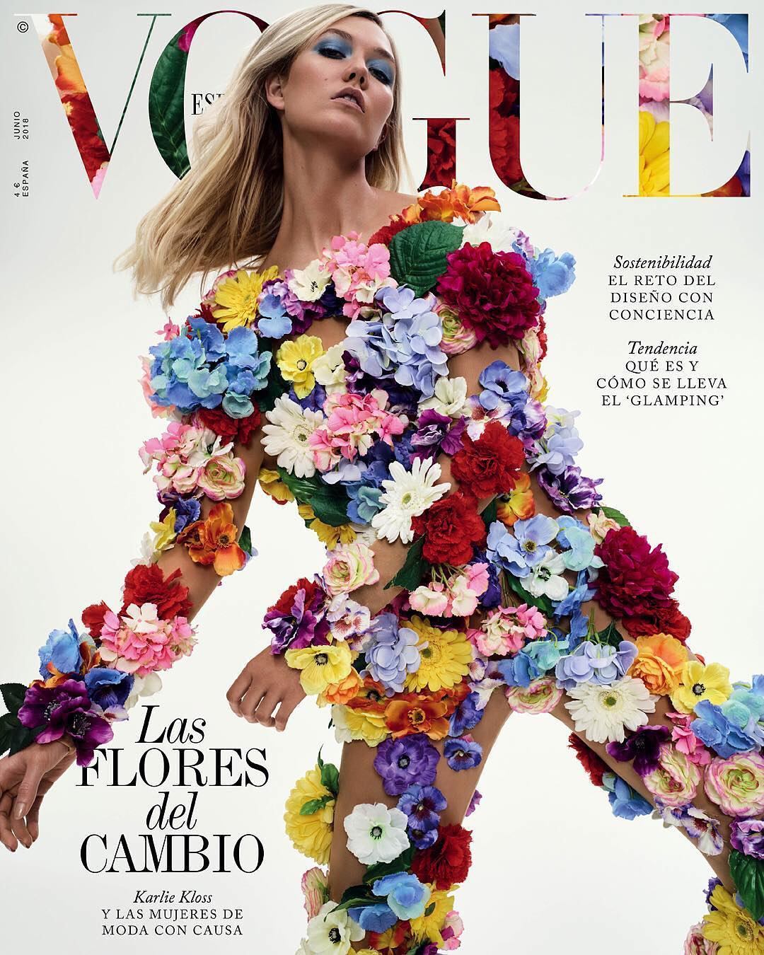 Karlie Kloss – Vogue España – June 2018