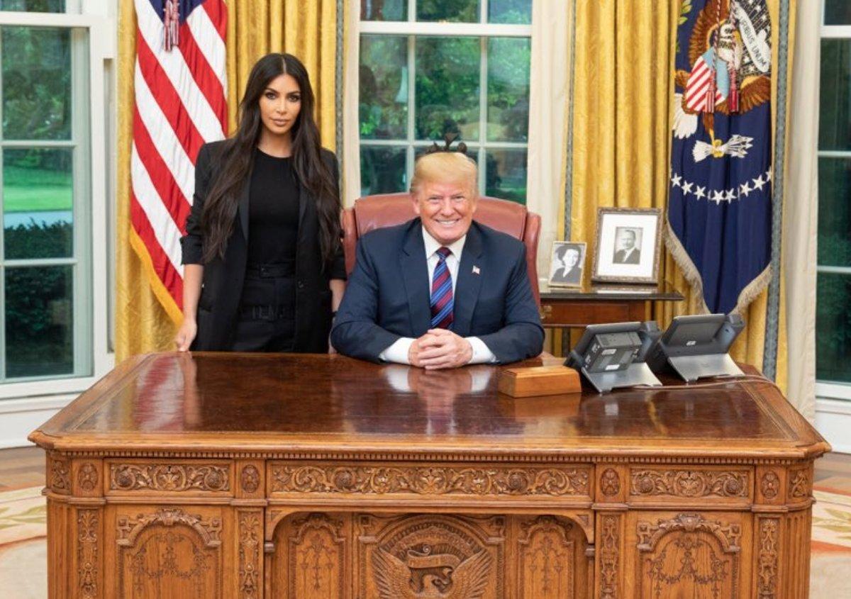 Картинки по запросу ким кардашьян и дональд трамп