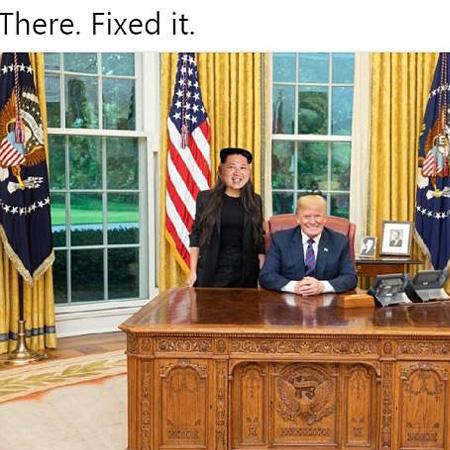 Ким и Дональд